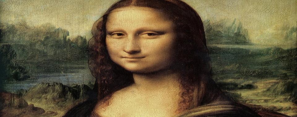 Мона лиза рисовал губы моны лизы