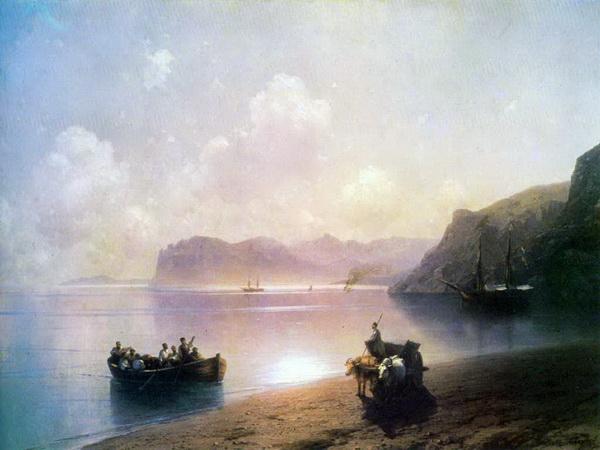 Айвазовский, Иван Константинович. Утро на море. 1883.