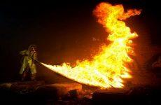 Человек — изобретатель огнемета