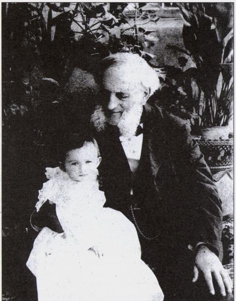 И.К. Айвазовский с внучкой. Феодосия, 1897 г