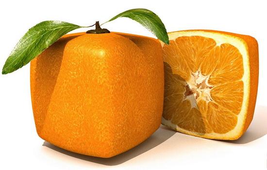 Какого цвета апельсины