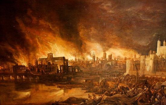 Каков был положительный эффект Великого лондонского пожара