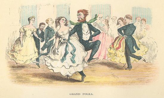 Кто придумал танец полька