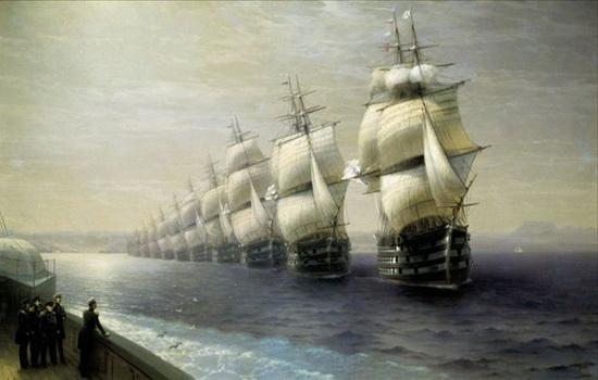 Кто вел английский флот против испанской Армады