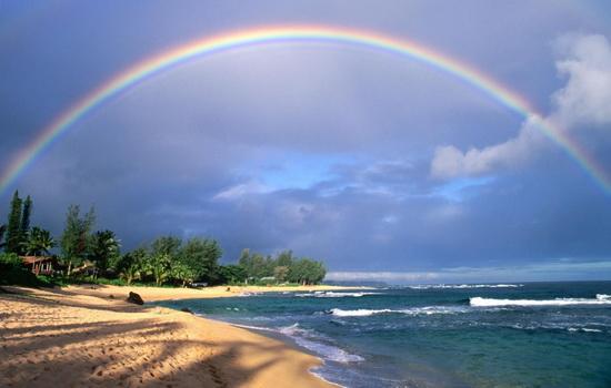 Почему цвета радуги располагаются в таком порядке