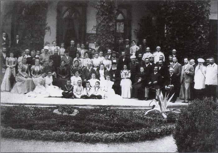 Последний день рождения И.К. Айвазовского. Имение Шах-Мамай, 17 июля 1899 г