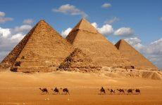 Самые большие пирамиды в Египте