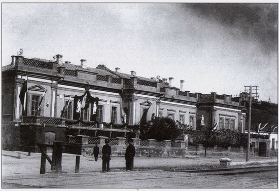 Скромный домик художника Айвазовского