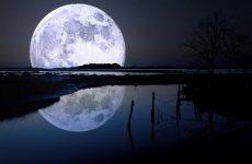 Темная сторона Луны никогда не освещается Солнцем