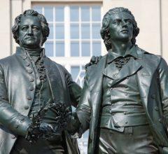 Гете и Шиллер — самые успешные немецкие драматурги