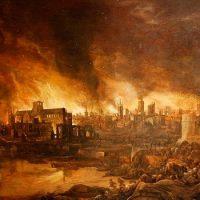 Каков был положительный эффект Великого лондонского пожара ?