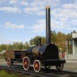 Кто создал первый российский паровоз ?