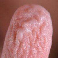 Морщится ли кожа после принятия ванны на самом деле?