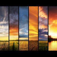 Смена времен года происходит из-за изменения удаленности Земли от Солнца
