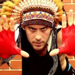 У индейцев красный цвет кожи