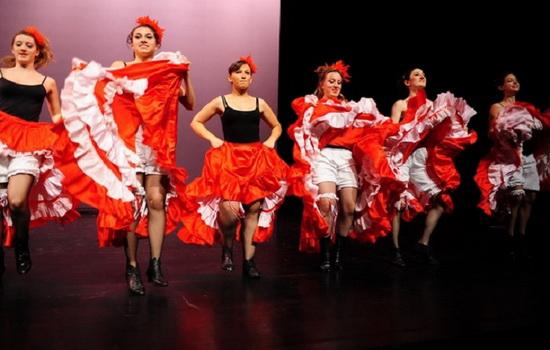 Чем именно шокировали первые танцоры канкана ?