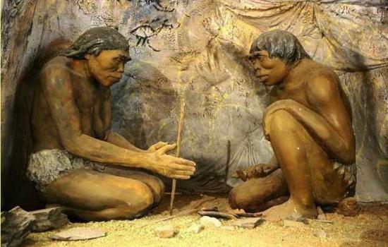 Древние люди жили в пещерах