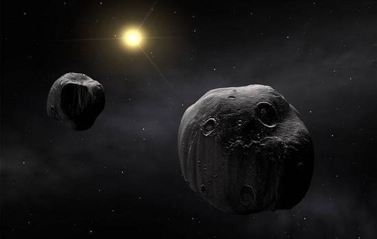 Космический корабль, попавший в метеорный поток, погибнет
