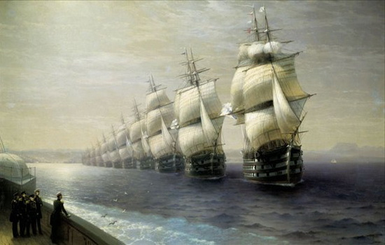 Кто вел английский флот против испанской Армады ?