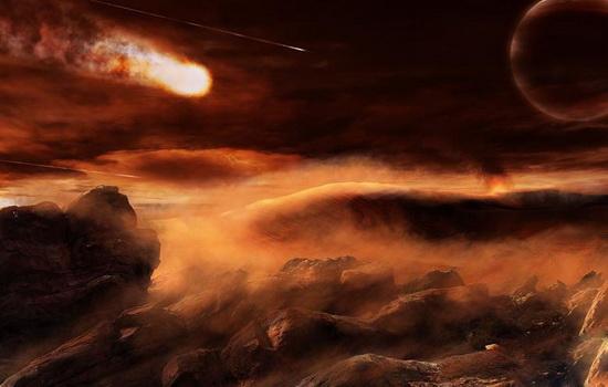 Метеориты падают на Землю горячими