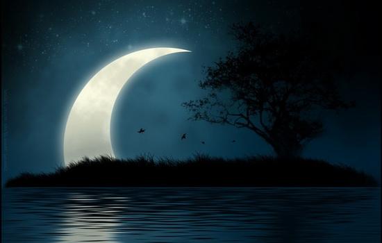Почему Луна бывает разной формы ?