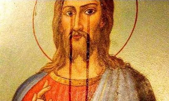 Почему мироточат иконы?